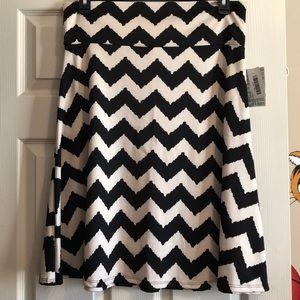 NWT 2XL LuLaRoe azure skirt